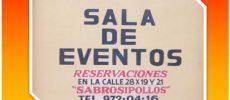 TICUL :  SALA DE EVENTOS EL PALOMAR
