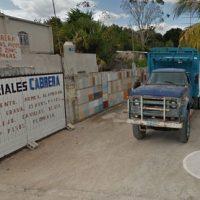 TICUL .  MATERIALES DE CONSTRUCCIÓN CABRERA