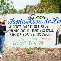 TICUL :  LOCAL SOCIAL   FINCA SANTA ROSA DE LIMA