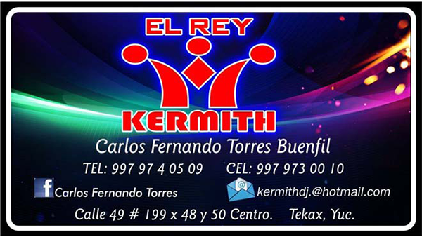 DISCO KERMITH EL REY