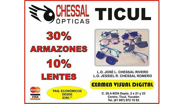 OPTICAS CHESSAL