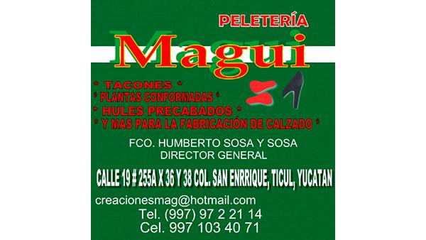 PELETERIA MAGUI