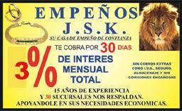 CASA DE EMPEÑOS JSK