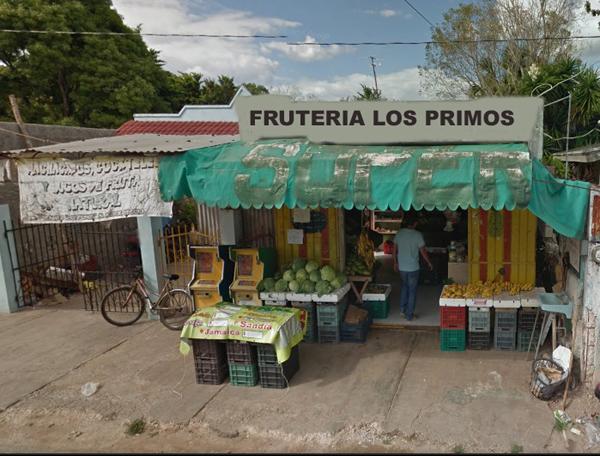 TICUL : FRUTERIA LOS PRIMOS
