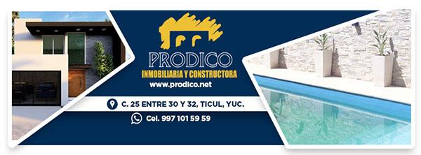 INMOBILIARIA Y CONSTRUCTORA PRODICO TICUL