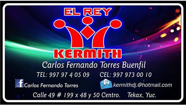 DISCO KERMITH EL REY