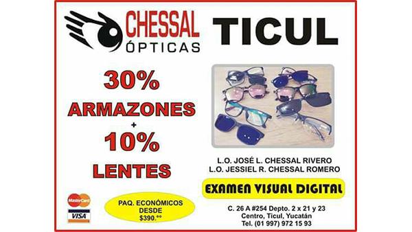 OPTICAS CHESSAL