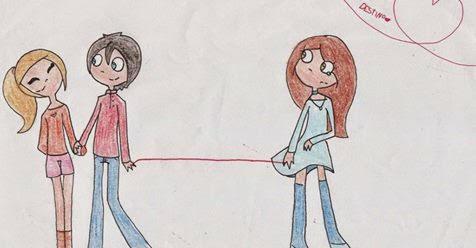 CURIOSIDDES  :   El hilo rojo del destino, si tienes pareja o haz tenido, quizás vuelva. ¡Te interesará leer esto!